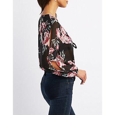 Floral Sheer Bodysuit