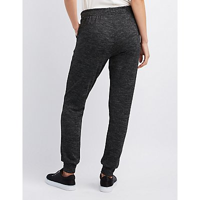French Terry Knit Jogger Pants