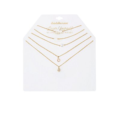Embellished Love Layered Necklaces