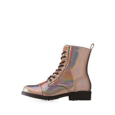 Hologram Combat Boots