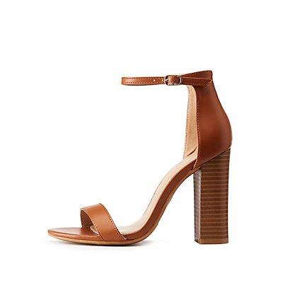 Ankle Strap Block Heel Sandals