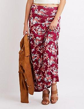 Floral Printed Maxi Skirt