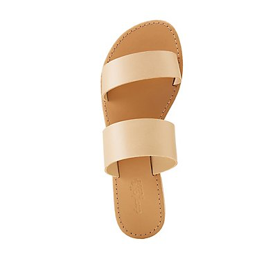 Double Band Slide Sandals