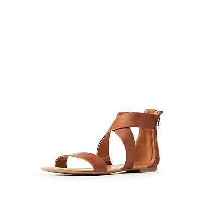 Ankle Wrap Flat Sandals
