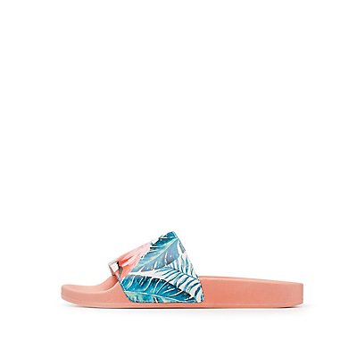 Flamingo Tropical Slide Sandals