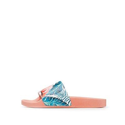 Flamingo Tropical Slide Sandals
