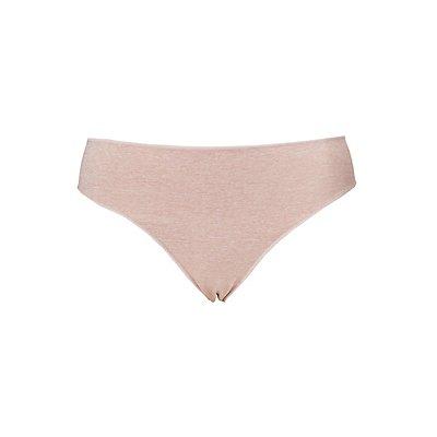 Plus Size Micro-Knit Cheeky Panties
