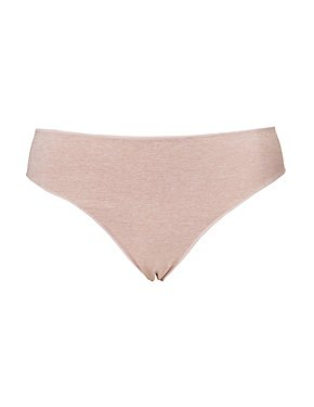 Plus Size Micro-Knit Cheeky Panties