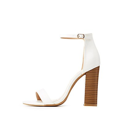 Ankle Strap Block Sandals