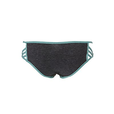 Caged Cotton Hipster Panties