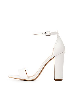 Ankle Strap Block Heel Sandals