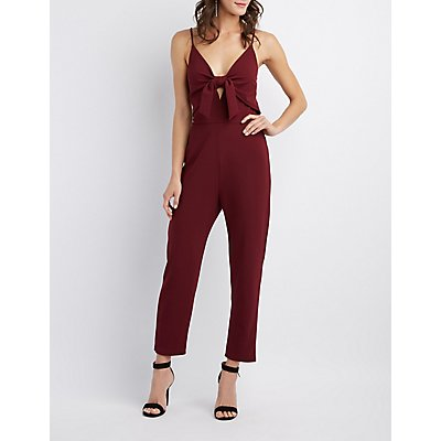 Bow-Detail Jumpsuit