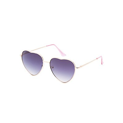 Heart Shaped Sunglasses at Charlotte Russe in Cypress, TX | Tuggl