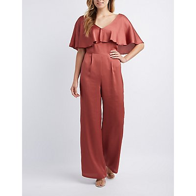 Tiered Ruffle Jumpsuit