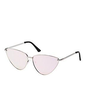 Metal Cateye Sunglasses