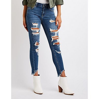 Cello High Waist Skinny Jeans