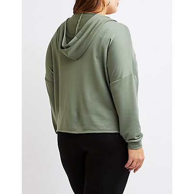 Plus Size Local Babes Classic Zip-Up Hoodie