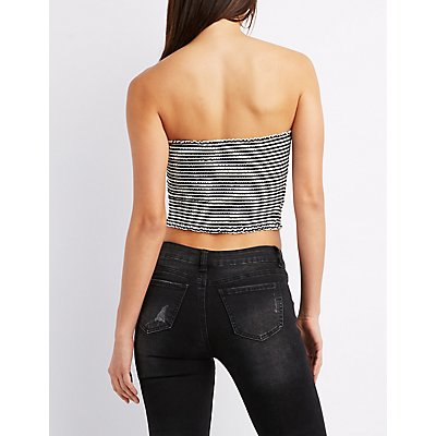 Striped Tub Cropped Top
