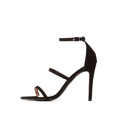 Ankle Strap Stiletto Sandals