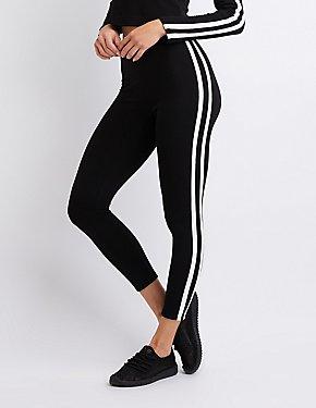 Striped Knit Leggings