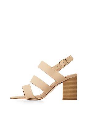 Slingback Block Heel Sandals