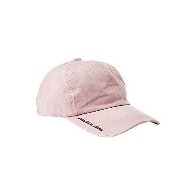 Washed Positive Vibes Baseball Hat
