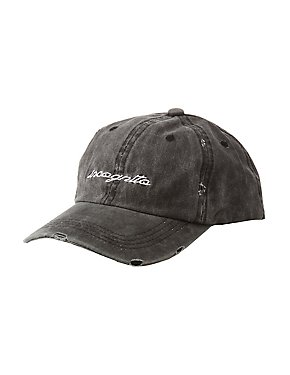 Washed Incognito Baseball Hat