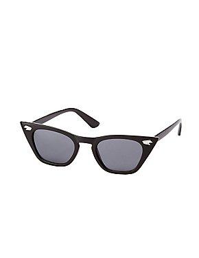 Stud Cateye Sunglasses