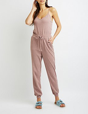 Sleeveless Tie-Waist Jumpsuit
