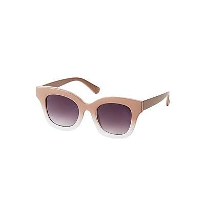 Ombre Cateye Sunglasses