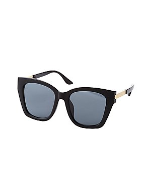 Combo Square Frame Sunglasses
