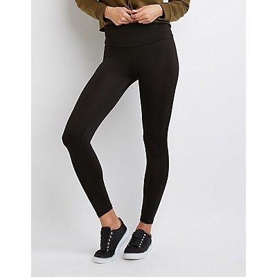 High-Waist Stretch Leggings