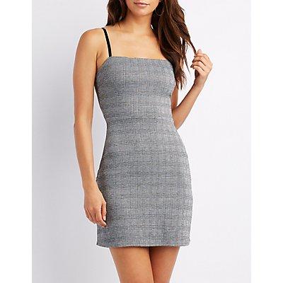 Plaid Bodycon Dress