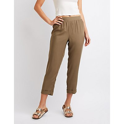Cuffed Trousers