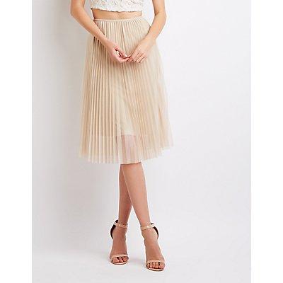 Tulle Midi Skirt