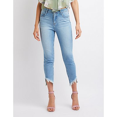 Cello Mid Rise Skinny Jeans