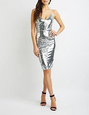 Sequins Bodycon Dress