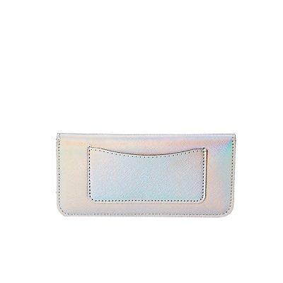 Metallic Faux Leather Wallet
