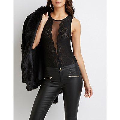 Mesh & Lace Bodysuit