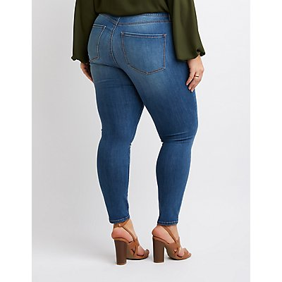 Plus Size Refuge Skinny Legging Jeans