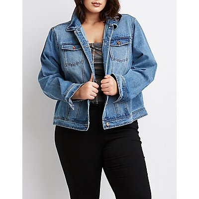 Plus Size Refuge Denim Jacket