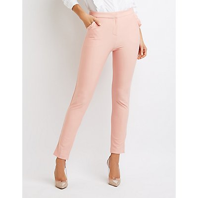 Ruffle-Trim Trousers
