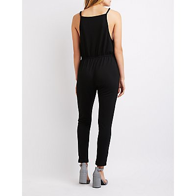 Bib Neck Jumpsuit