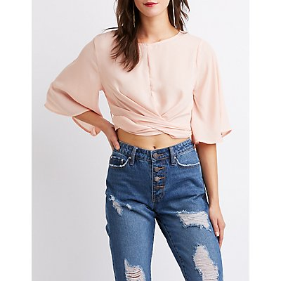 Back-Tie Crop Top