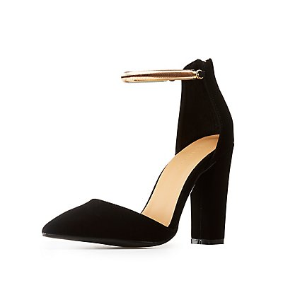 Bamboo D'Orsay Pumps