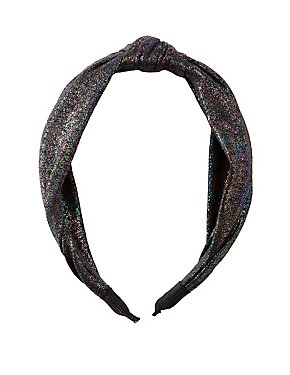 Metallic Knotted Headband