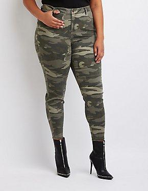 Plus Size Skin Tight Legging Jeans