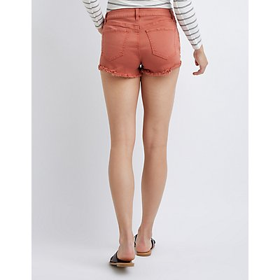 Refuge Shortie Denim Shorts