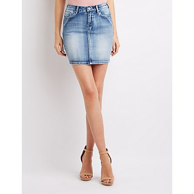 Refuge Denim Mini Skirt