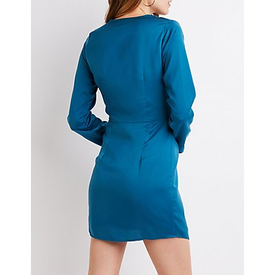 Knotted Bodycon Dress